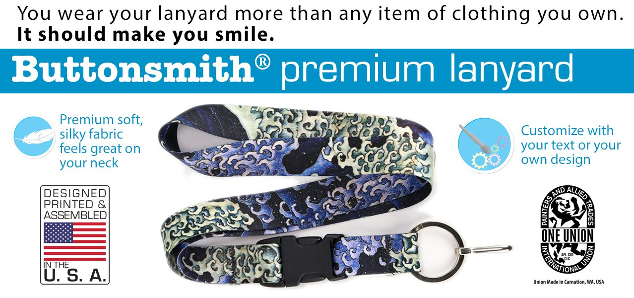 Buttonsmith lanyards