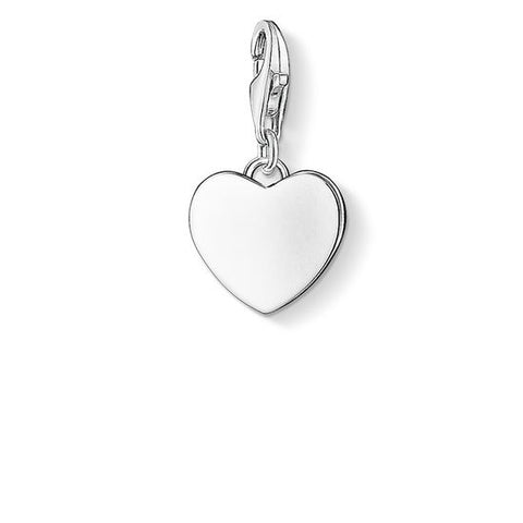"CHARM PENDANT ""HEART"" - Tricia's Gems"