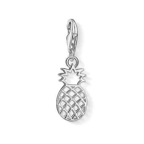 Silver Pinapple Charm - Tricia's Gems