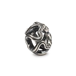 Connection Silver Bead | Trollbead - Tricia's Gems