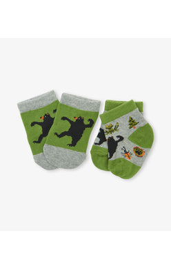 Retro Camping - 2 pack Baby Socks - Tricia's Gems