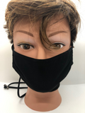 Facemask-Up to 3 Layer | Medical Grade ASTM Level 2 - Tricia's Gems