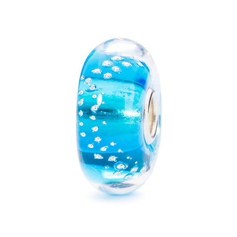Silver Trace Bead Turquoise