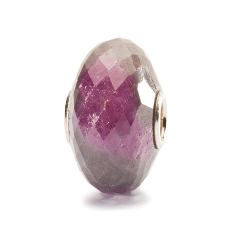 Ruby Rock Bead