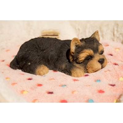 Pet Pals - Yorkshire Terrier Puppy Sleeping Figurine - Tricia's Gems