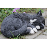 Cat Sleeping Figurine - Tricia's Gems
