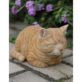 Orange Tabby Sleeping Figurine - Tricia's Gems