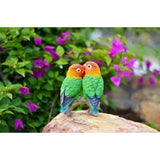 Love Birds on Branch Figurine