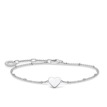 Bracelet Heart with Dots Silver | Thomas Sabo