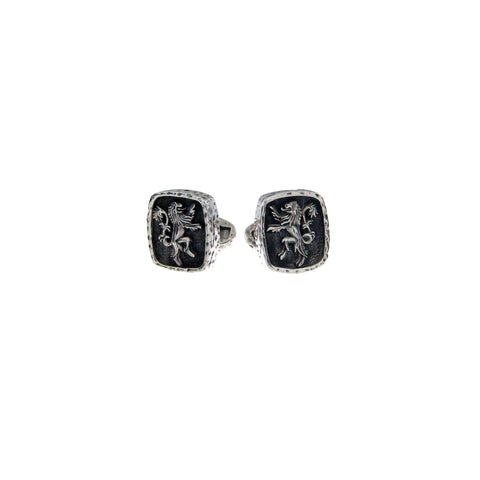 Petrichor by Keith Jack | Wild Souls Collection | Lion Rampant Cuff Links - Tricia's Gems