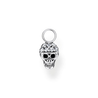 Single Ear Pendant Skull Silver |  Thomas Sabo