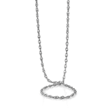 "DOUBLE LOOPED LADIES 18"" CHAIN"