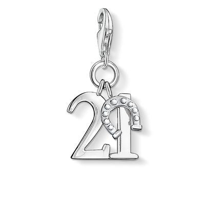 Lucky Number 21 Charm - Tricia's Gems