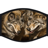 Face Mask - 2 Wolves