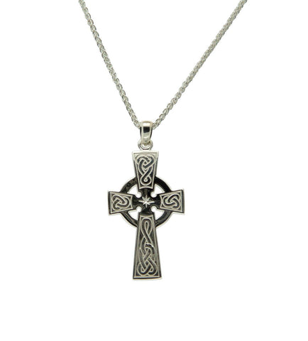 Celtic Cross Pendant, S/sil - Tricia's Gems