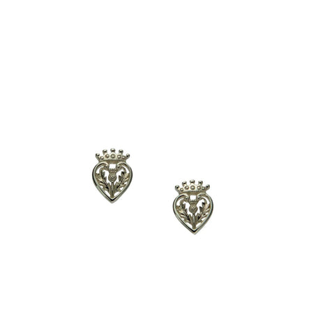 Luckinbooth Post Earrings, S/sil