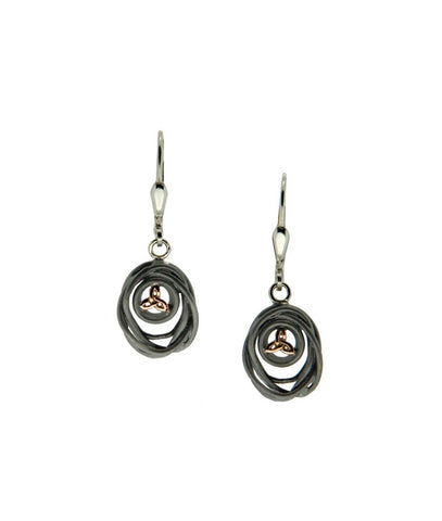 Celtic Cradle of Life  Earrings | Keith Jack - Tricia's Gems