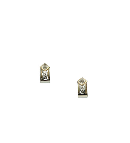 Window to the Soul Diamond(1.5mm) Post Earrings | Keith Jack - Tricia's Gems