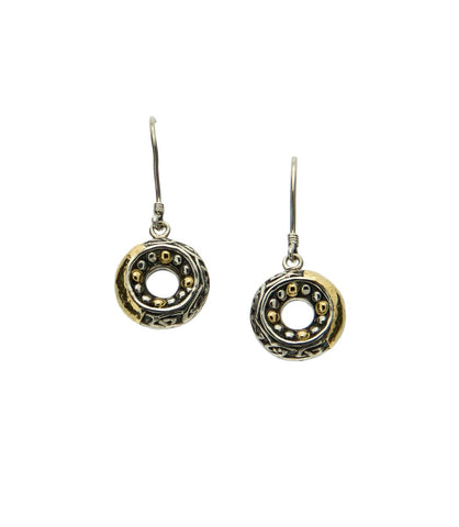 Labryinth Eternity Round Hook Earrings | Keith Jack - Tricia's Gems