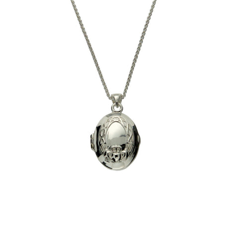 Claddagh Locket | Keith Jack - Tricia's Gems
