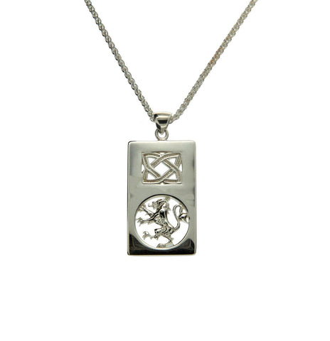 Lion Rampant Rectangle Pendant | Keith Jack - Tricia's Gems