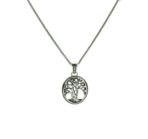 Tree of Life Pendant, Small, Sterling Silver - Tricia's Gems
