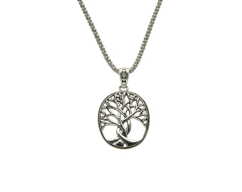 Tree of Life Pendant, Large, SS - Tricia's Gems