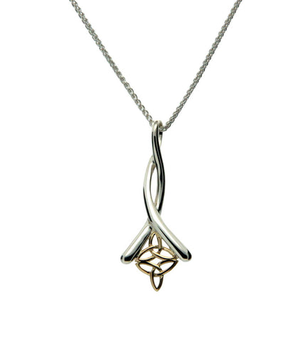 Trinity Knot Double Pendant | Keith Jack - Tricia's Gems