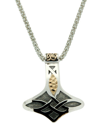 Norse Forge Thor's Hammer Pendant | Keith Jack - Tricia's Gems
