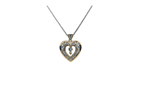 Celtic Heart Pendant | Keith Jack - Tricia's Gems