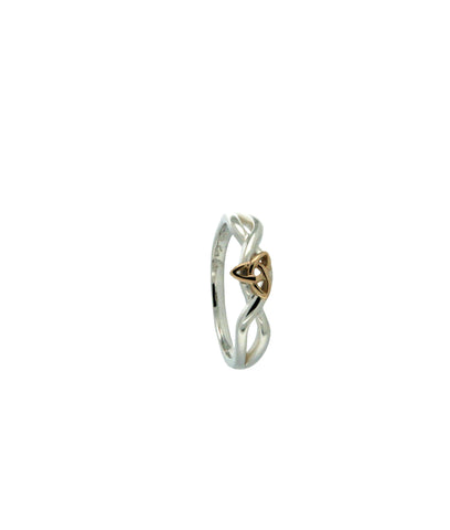 Infinity Knot Ring (Tapered) | Keith Jack - Tricia's Gems