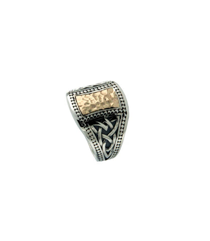 Norse Forge Celtic Signet Ring(Tapered)  Size 8-15 | Keith Jack - Tricia's Gems