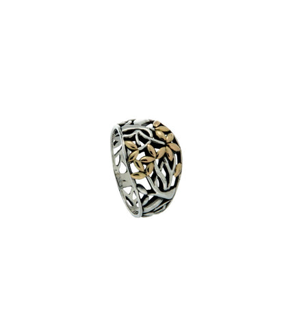 Tree of Life Ring (Tapered) | Keith Jack - Tricia's Gems