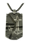 GUN-IP ANCHOR DOGTAG NECKLACE - Tricia's Gems