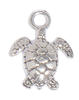 The Deep Sea Turtle charm evoked a calming influence for us- plus we just love turtles! An easy to use lobster clasp is included which allows you to put it on your Lizzy wrap bracelet where you want, and take it off when you want.