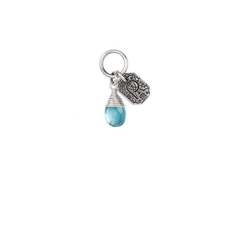 Friendship Turquoise Signature Attraction Charm by Pyrrha