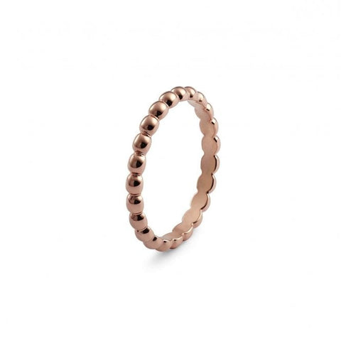 Matino Rose Gold Plated Stainless Steel Spacer Ring - Tricia's Gems