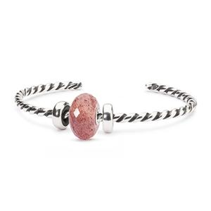 Summer Berry Twisted Bangle