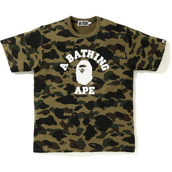 f296583242d3 Bape 1st Camo College Tee – Authentic Sole Boutique