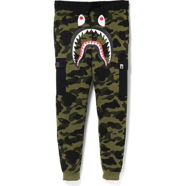Bape 1st Camo Shark Slim Sweat Cargo Pants
