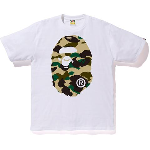 Bape 1st Camo Big Ape head tee