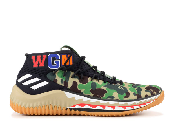 the best attitude 9320e c868b Adidas Dame 4 Bape