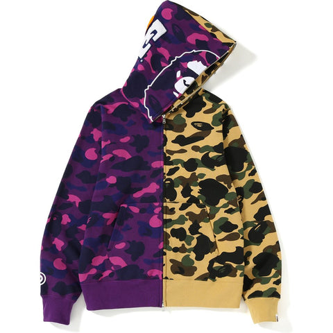 e4fc0ac0 ... Side Big Ape Head Tee. $ 140.00. Bape 1st X Color Camo 2nd Ape Half  Full Zip Hoodie