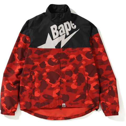 Bape Color Camo Cycle Jacket