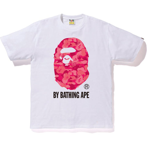 Bape Fire Camo By Bathing Tee