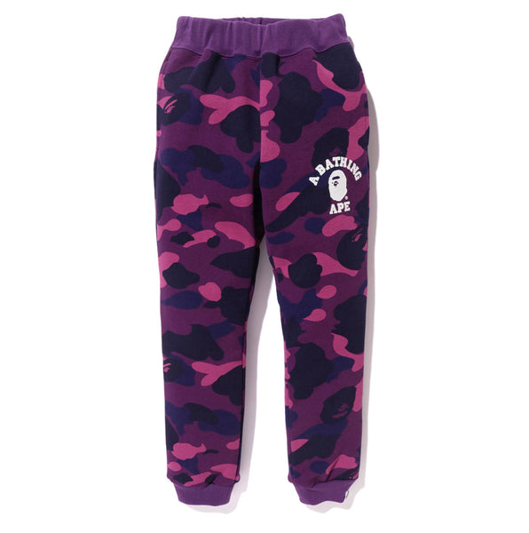 Bape Color Camo Slim Sweat Pants - Kids