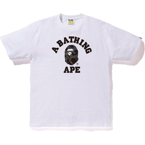 Bape Color Camo College Tee