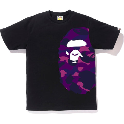 Bape Color Camo Side Big Ape Head Tee