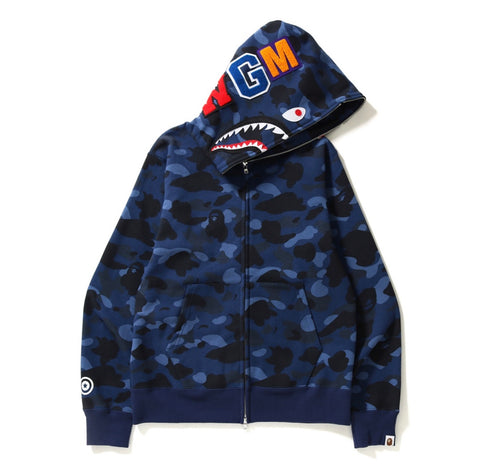 Bape Color Camo Shark Full Zip
