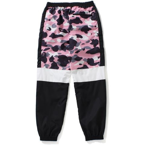 Bape Warm Up Camo Track Pants Ladies